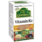 NATURES PLUS SOURCE OF LIFE GARDEN VITAMIN K2