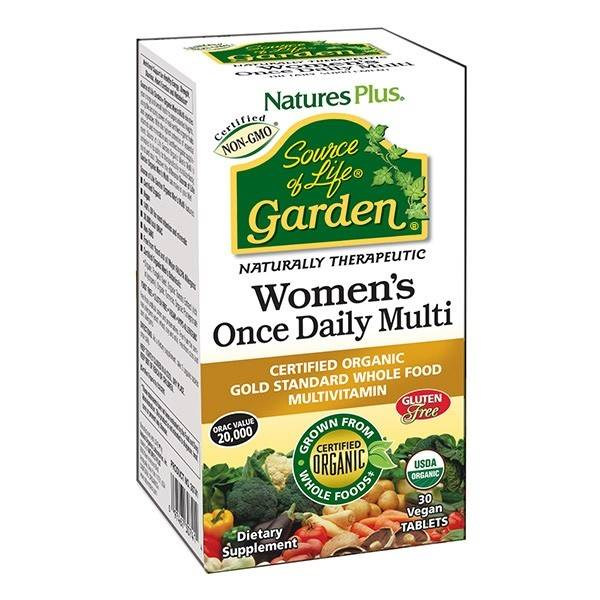 Natures Plus Source of Life Garden Womens Daily Multi 30 Tabs