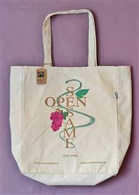 Open Sesame 100% Cotton Fairtrade Canvas Bag