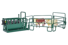 Cattle Squeeze Chute Play Set Green