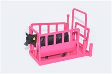 Cattle Squeeze Chute Pink
