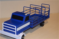 Cattle Truck Blue