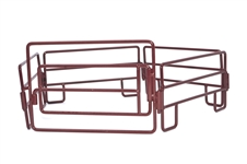 5 Piece Panel/Gate Combo Set Red