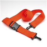Disposable Orange 5 foot board strap with quick clips