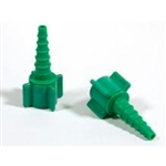 11187 Oxygen Barbed Fitting Christmas XMas tree green