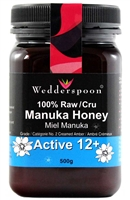 Raw Manuka Honey Active 12+, 500g