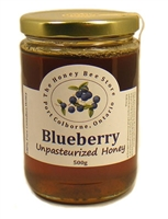 Blueberry Honey 500 g Nova Scotia, Canada