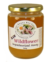Raw Wildflower Honey from Niagara, 500g