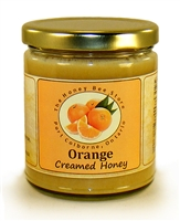 Creamed Flavoured honey with real oranges.