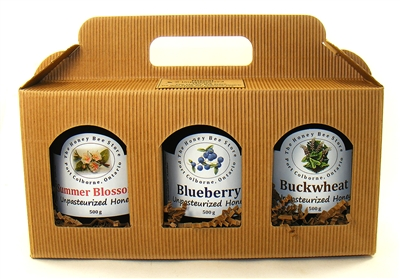3 pcs Canadian Honey Gift Set