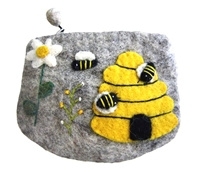 Wool bee bag