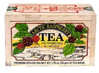 Arctic Raspberry Black Tea in a Gift Wood Box