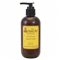 Naked Bee Moisturizing Coconut & Honey Hand and Body Lotion, 8 oz/237 ml pump.