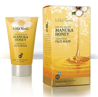Manuka Honey Face Mask by wild ferns, Canada Ontario. The Honey Bee Store