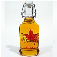 The Honey Bee Store, Canadian Maple Syrup Cruchon Gourmet Maple Leaf, 200 ml