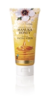 Manuka Honey Manuka Honey Refining Facial Scrub wild ferns, Canada Ontario. The Honey Bee Store