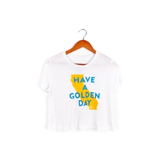 Have A Golden Day Crop Top