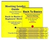 Meeting Leader Guide (Original Format ) and 10 Back to Basics Books