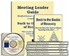 Back to the Basics of Recovery Meeting Leader Guide + PowerPoint 2010 CD + 10 Books