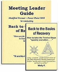 Back to the Basics of Recovery - Meeting Leader Guide and Back to the Basics of Recovery Book