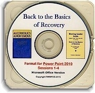 Back to the Basics of Recovery PowerPoint 2010 Presentation CD