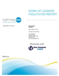 Everything DiSC Work of Leaders&#174 Facilitator Report