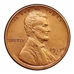 1917-S Wheat Penny