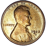 1918-D Wheat Penny