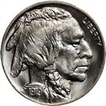 1919-P Buffalo Head Nickel Coins