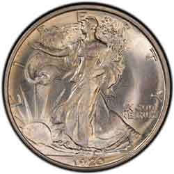 1920-D Walking Liberty Half Dollar