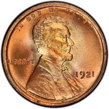 1921-P Lincoln Penny