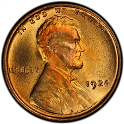 1924-P Lincoln Penny