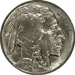 1935-D Buffalo Head Nickel Coins