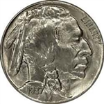 1937-S Buffalo Head Nickel Coins