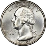 1937 Washington Quarter