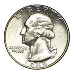 1948-S Washington Quarter