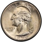 1950-S Washington Quarter