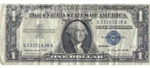 1957 Silver Certificate Currency Notes