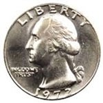 1972-P Washington Quarter