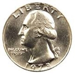 1973-P Washington Quarter