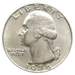 1978-P Washington Quarter
