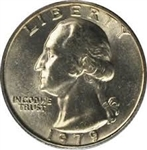 1979-P Washington Quarter