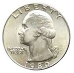1980-D Washington Quarter
