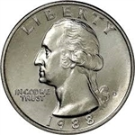 1988-D Washington Quarter