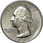 1988-P Washington Quarter