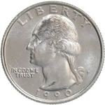 1990-D Washington Quarter