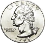 1995-P Washington Quarter