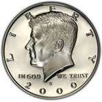 Kennedy Half Dollar Proof 2000-S