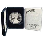 2002 Proof American Silver Eagle