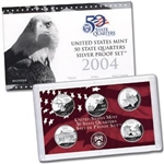 2004 State Quarter Silver Proof Set